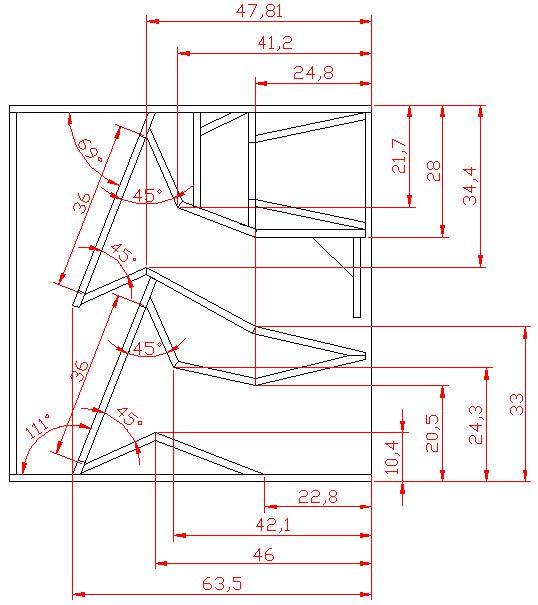 X-tro speaker box plan design