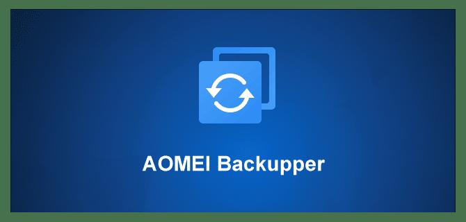 برنامج AOMEI Backupper 5.7.0 Technician Plus لاخذ نسخة احتياطية