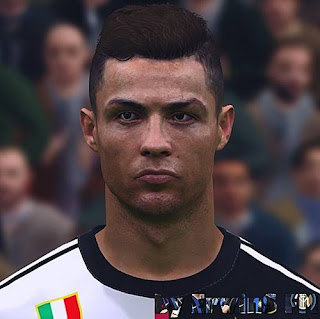 Cristiano Ronaldo Face From PES 2021 For PES 2017
