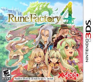 Rune Factory 4 3DS CIA USA