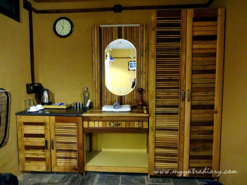 Room decor at The Himalayan Bungalow Boutique homestay Almora
