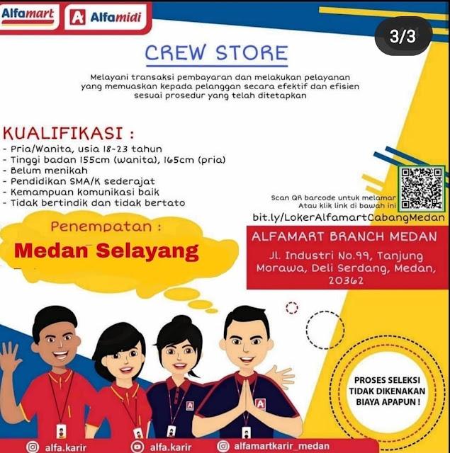 Lowongan Kerja Medan November 2020 Sma Smk Alfamart
