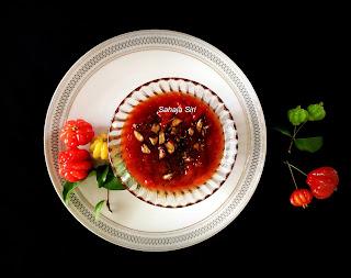 Brazillian cherry tokku