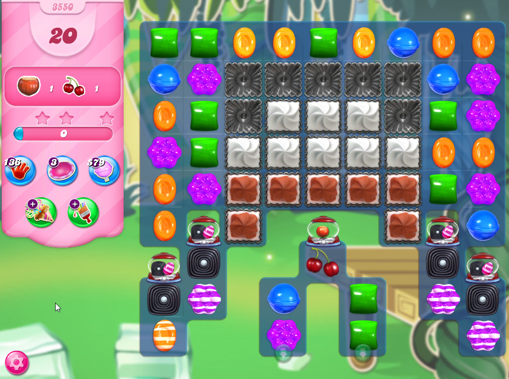 Candy Crush Saga level 3550