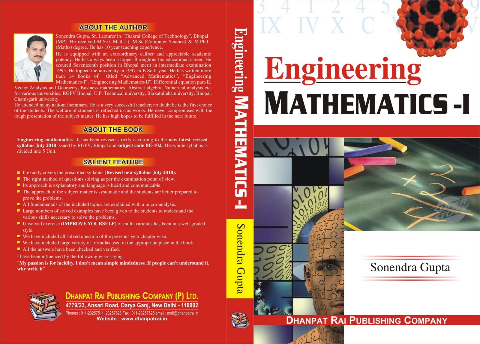 Engineering Math Book