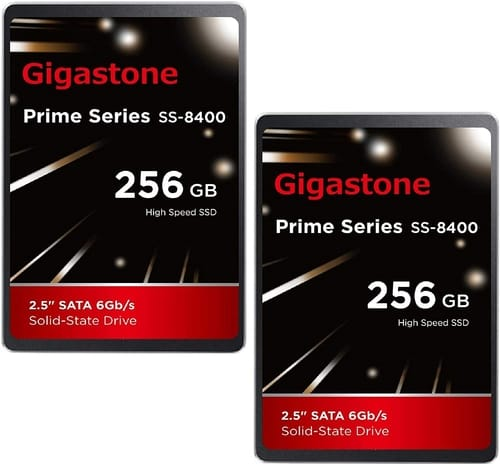 Gigastone 256GB 2-Pack 2.5 Internal SSD