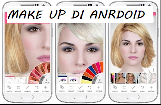 aplikasi make up wajah di android agar cantik dan mancung