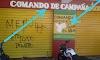 Vandalismo electoral- Candidato a Alcalde Jaime Reinoso Camilo-Jaimito- denuncia daños al local de su comité de campaña