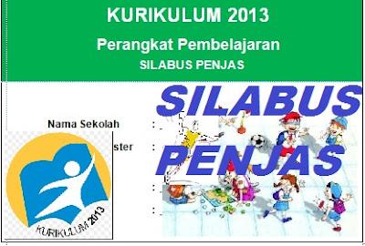 Silabus PJOK Kurikulum 2013 Revisi 2016 Sd