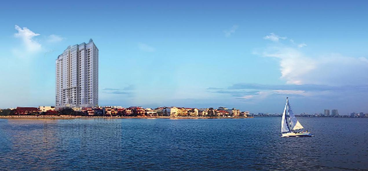 View cực đẹp của dự án chung cư D'eldorado Phú Thanh.