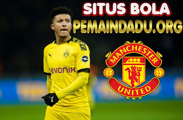 Winger Jadon Sancho Ingin Bela Manhester United Musim Depan
