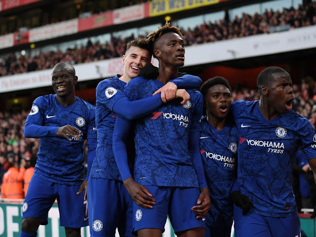 Video Cuplikan Gol: Arsenal 1-2 Chelsea (Premier League)