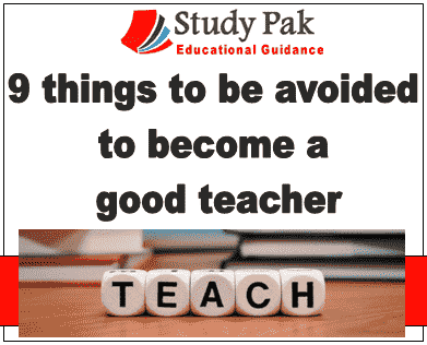 what to do for becoming a good teacher 9 things