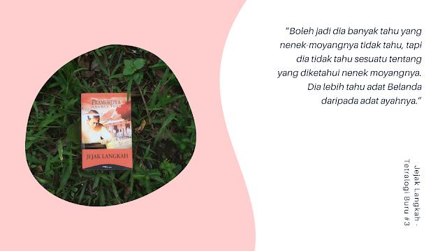 Review Buku: Jejak Langkah – Tetralogi Buru #3.