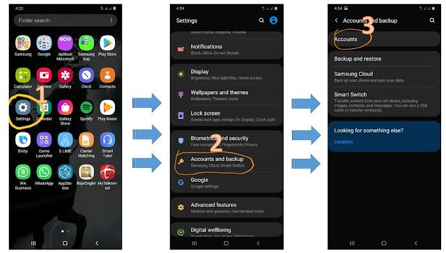 cara menghapus akun google permanen lewat HP/ smartphone