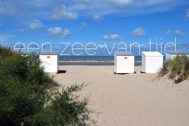cabines op het strand