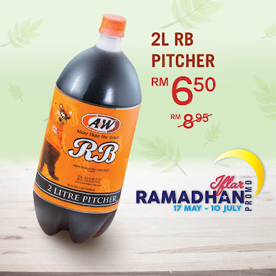 A&W Malaysia RB 2L Pitcher Discount Promo