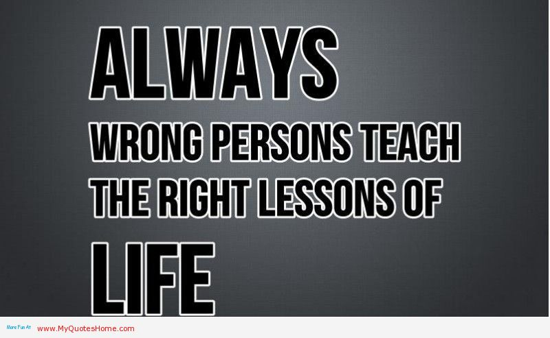 Quotes about Life Lessons | waywardpencils
