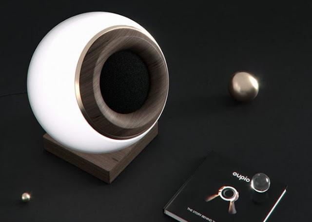 Oupio smart light and Bluetooth speaker