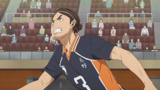 ハイキュー!! アニメ 3期8話 東峰旭   Karasuno vs Shiratorizawa   HAIKYU!! Season3
