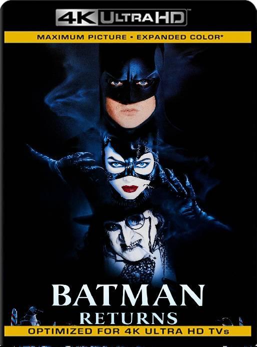 Batman Regresa (1992) BDRip 4K HDR Latino [GoogleDrive] Ivan092