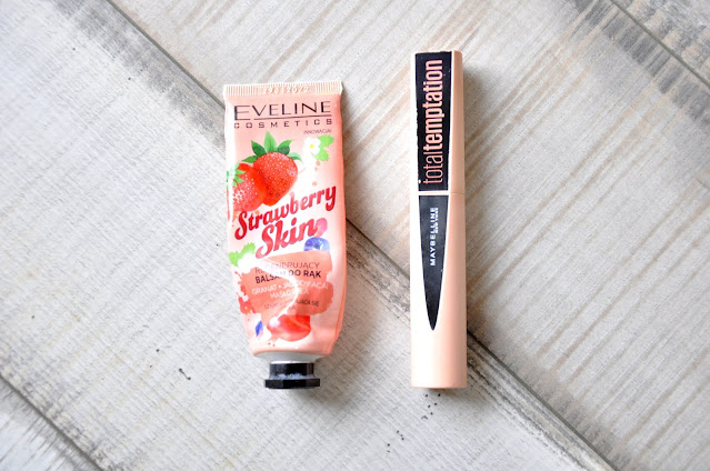 krem do rąk eveline comsetics strawberry skin, Mascara Maybelline Total Temptation