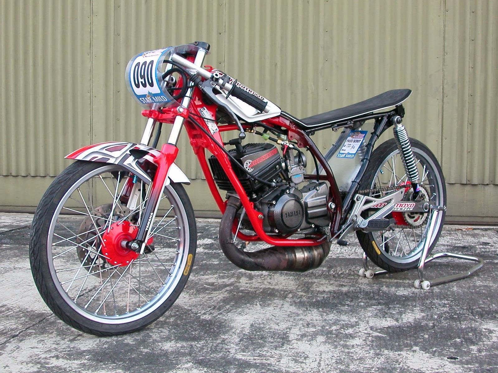 Gambar Sepeda Motor Drag Dari Pensil Lokerteen