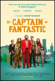 Cartel de Captain Fantastic (2016)