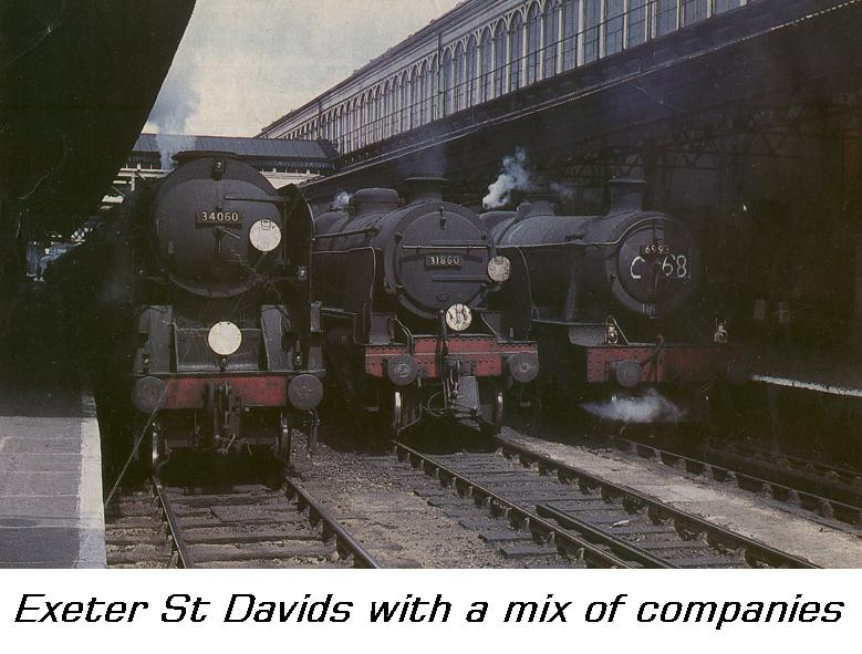 Steam Memories Exeter St Davids
