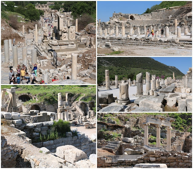 Bouleuterion housed the meetings of the council (boule) as well as musical performances and contests nearby Ephesus in Turkey