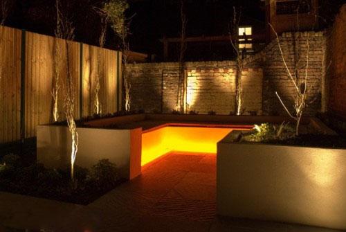 ideias de design 2013 Modelos de iluminação modernos para Jardim