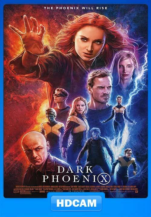 X-Men Dark Phoenix 2019 720p HDCAM Tamil Eng x264 | 480p 300MB | 100MB HEVC