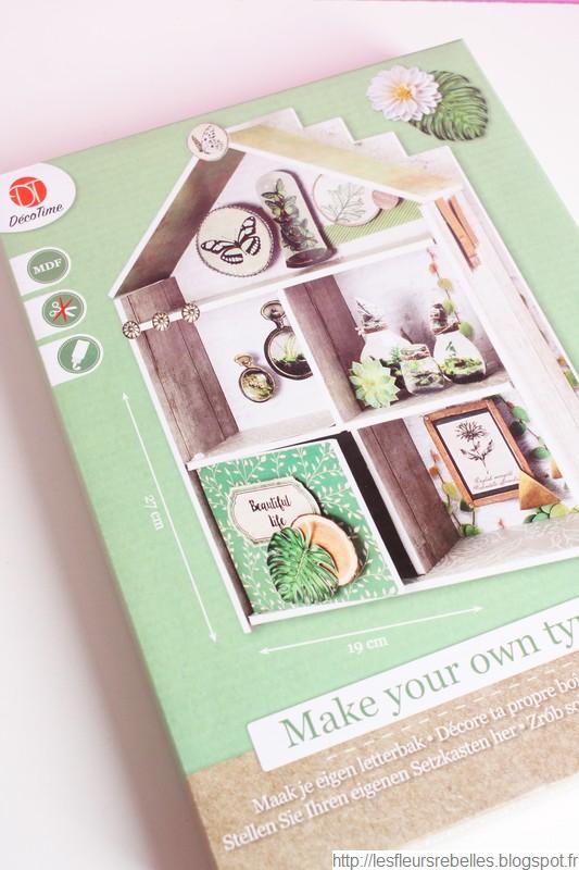 Kit mini maison jardin d'intérieur