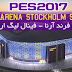 PES2017.  Friend Arena Stockholm Stadium