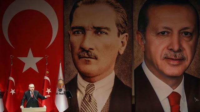 """Πώς η Τουρκία του Ερντογάν εξελίχθηκε σε ένα προσωπολατρικό """"πολεμικό καθεστώς"""""""