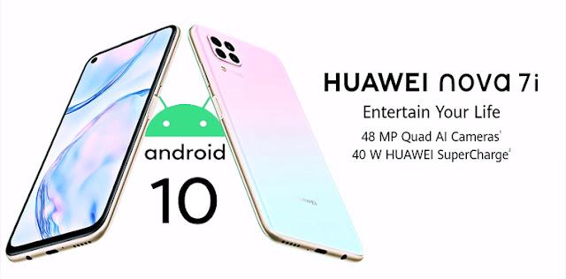 "هواوي nova 7i تخفيض على هاتف HUAWEI nova 7i الجديد بسبب فيروس كورونا -  سعر هاتف هواوي nova 7i - مواصفات هاتف ""Huawei nova 7i"