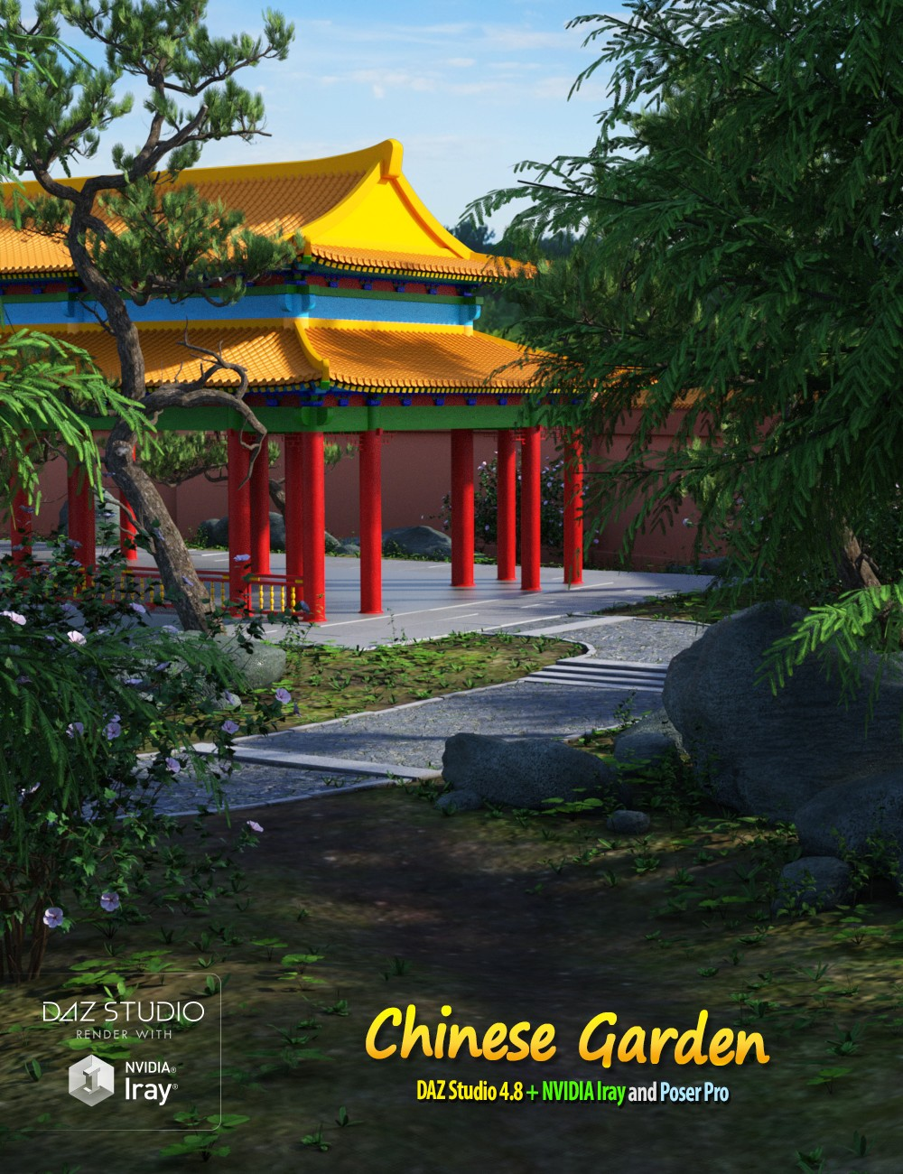 Chinese Garden A Photo From Guangdong South: Download DAZ Studio 3 For FREE!: DAZ 3D