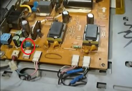 capasitor 2k lcd tv