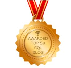 My Blog is ranked amongst the Top 50 SQL blogs worldwide..