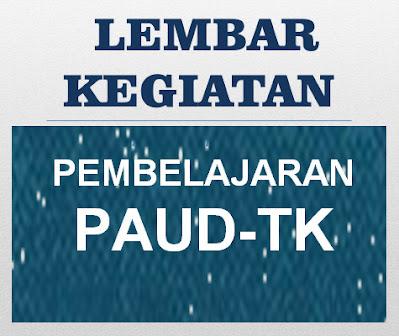 Lembar Kerja Siswa (LKS) PAUD-TK