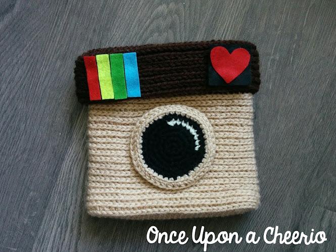 DIY Instagram Purse Free Crochet Pattern