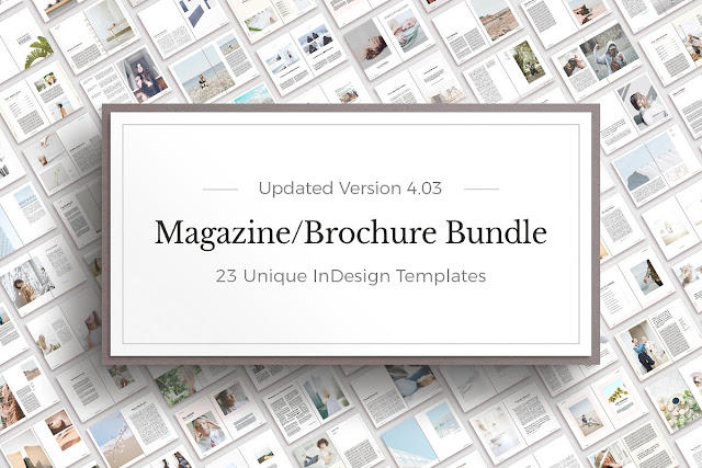 Magazine & Brochure Bundle Cover