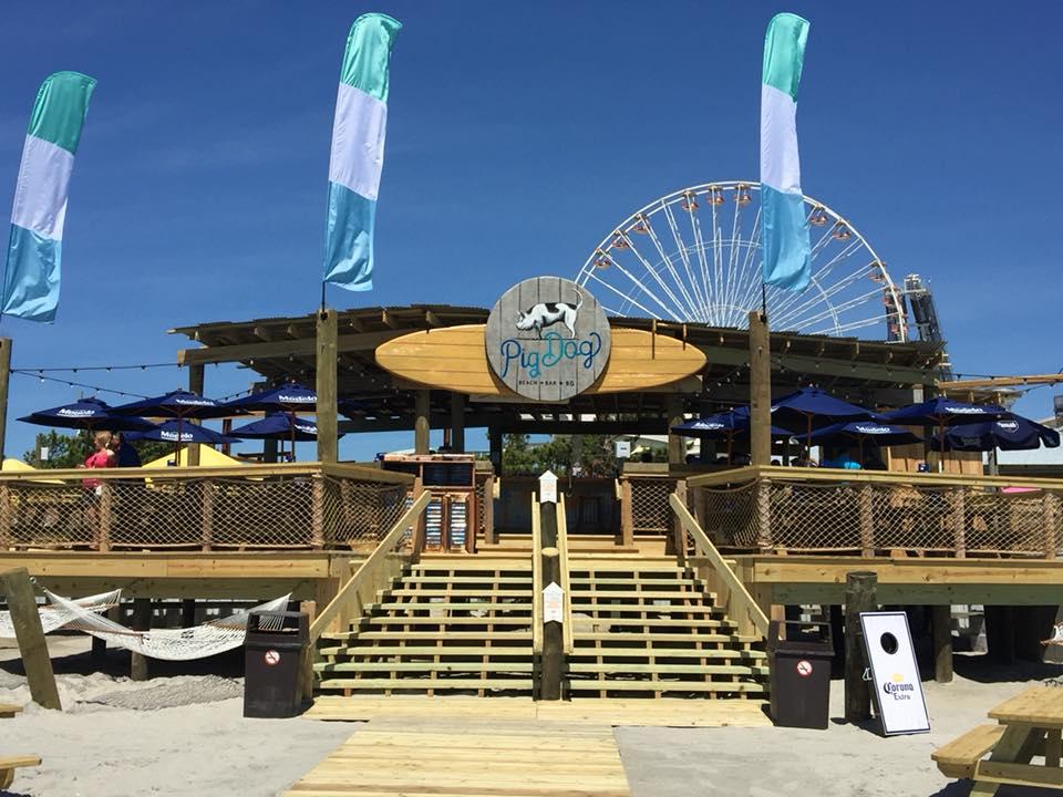 wildwood 365 pigdog beach bar grand opening today