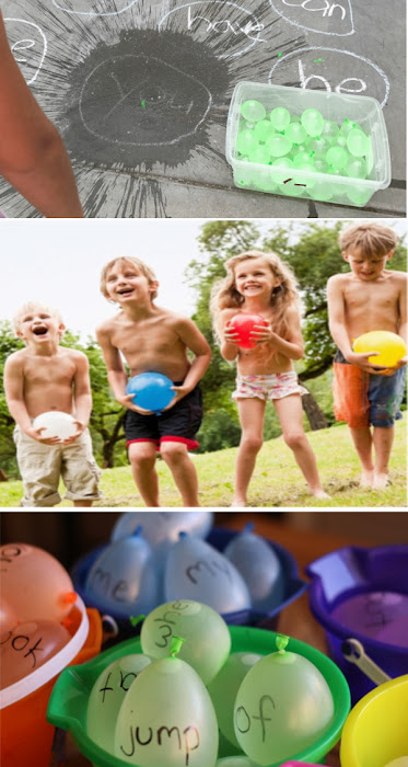 Water balloon crafts and activities for kids #waterballoons #waterballongames #wateractivitiesfortoddlers #growingajeweledrose #activitiesforkids