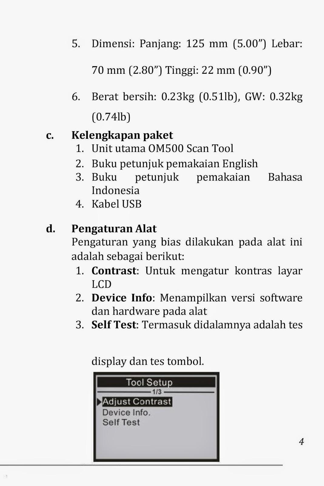cara menggunakan scanner obd 2