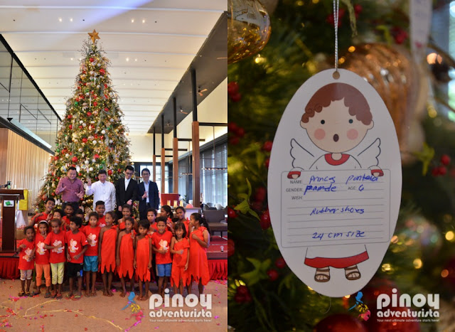 Midori Clark Hotel Christmas Tree Lighting and Angels Dream 2016 Project
