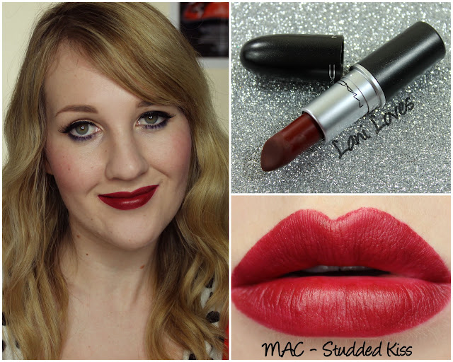 MAC Studded Kiss lipstick swatch