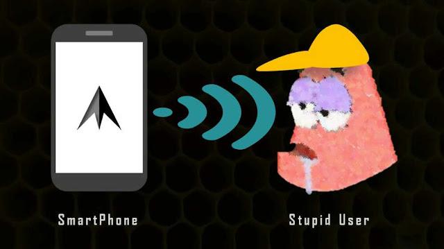 smartphone stupid user ngeblog asyikk