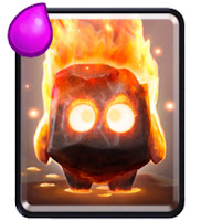 kartu Fire Spirits clash royale