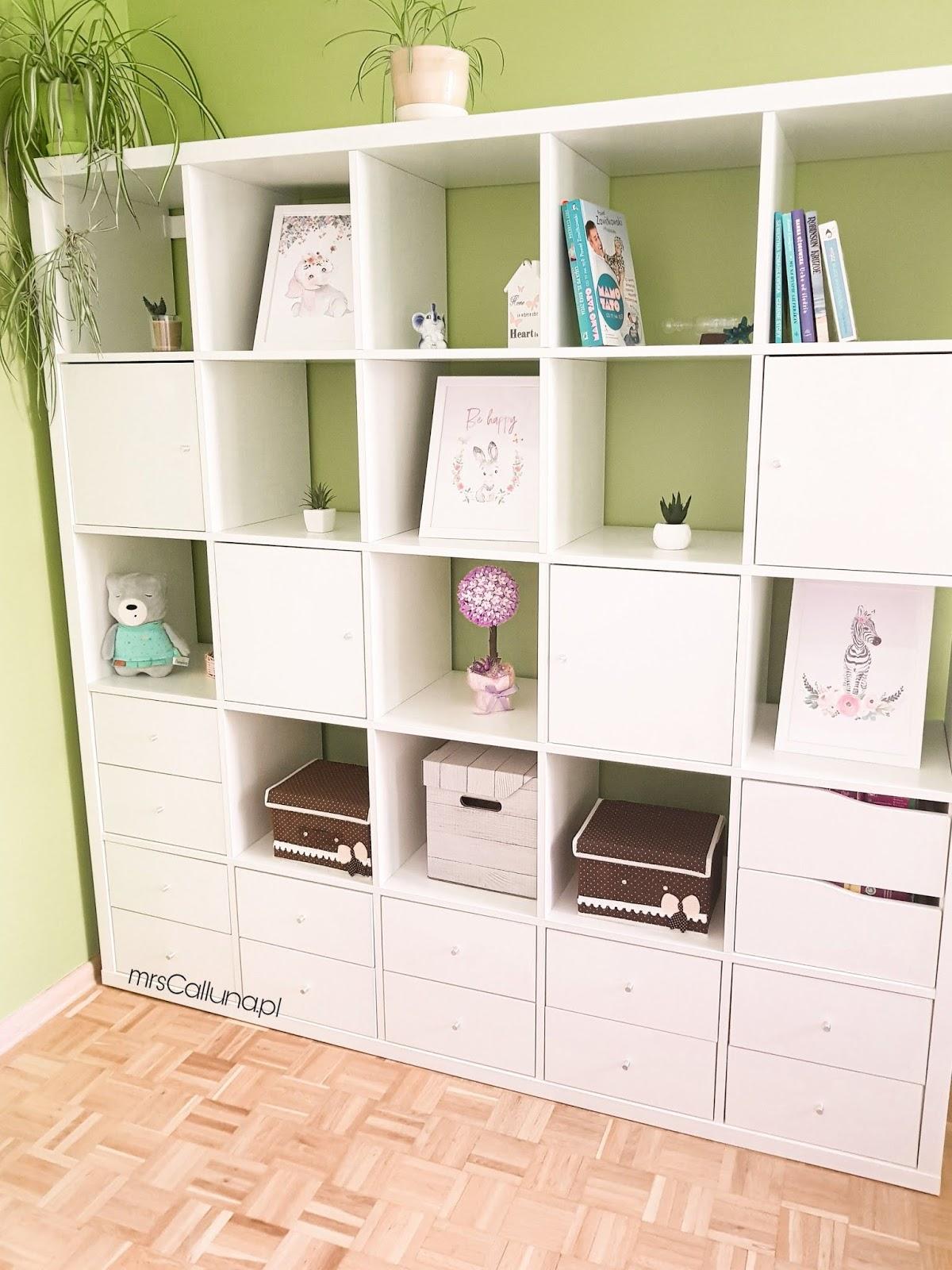 Regał Ikea Kallax Aranżacje W Salonie I Pokoju Dziecięcym